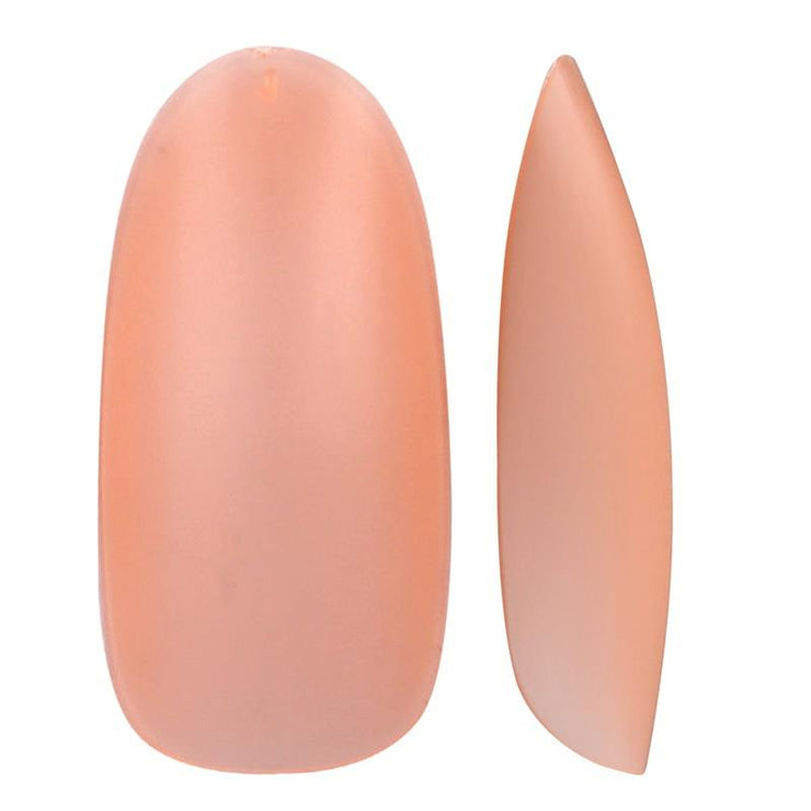 Fast Tips - Peach Oval