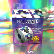 INFINITY Nail Forms 300pcs Roll With Dispenser Box