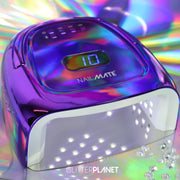 Nail Mate Pro Nail Lamp(LED/UV 60W) - Purple Pink Chrome