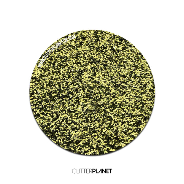 Lime Gold Biodegradable Glitter