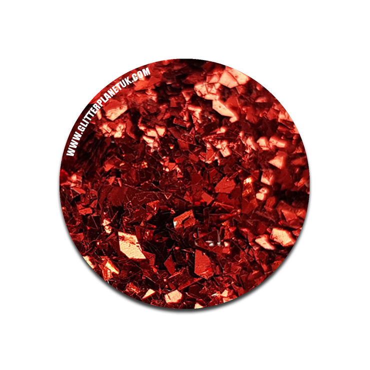 Metallic Red Shards