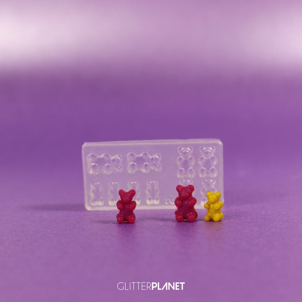 3D Jelly Baby - Teddy Bear Mould