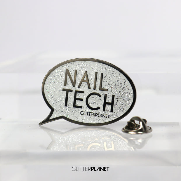 'NAIL TECH' - Badge pin