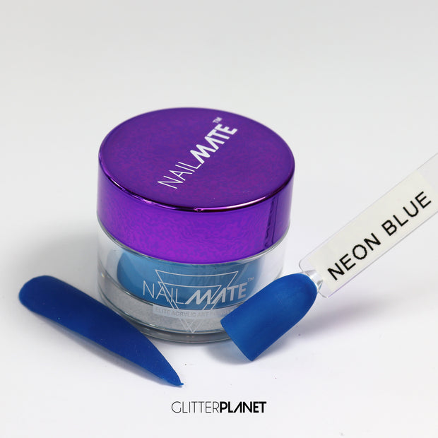 Neon Blue - Nail Mate™  Elite Acrylic colour
