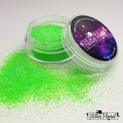 Neon Iridescent Green