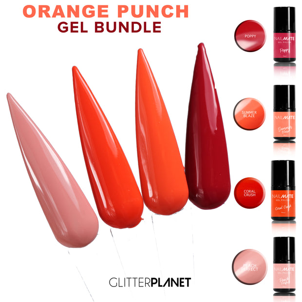 Orange Punch Gel Bundle