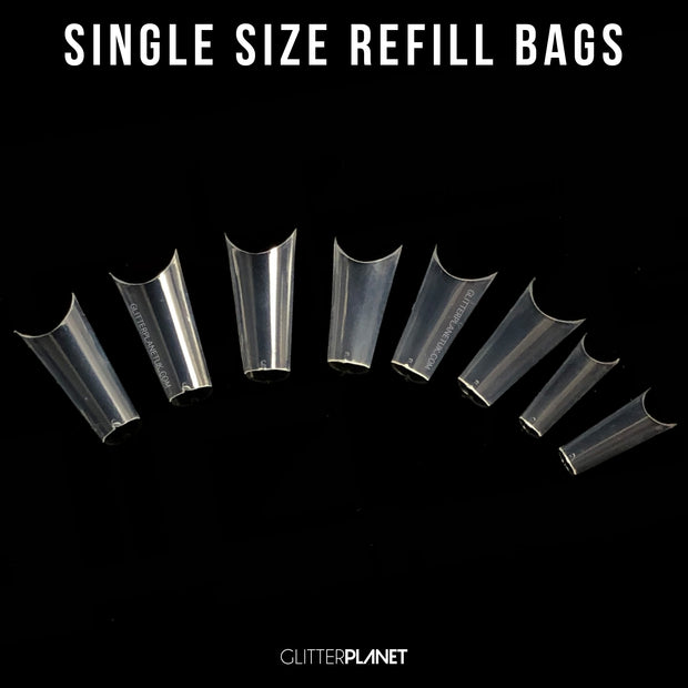 Pinched Coffin Nail Tips Refill