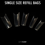 Refill Clear Salon Pro Nail Tips