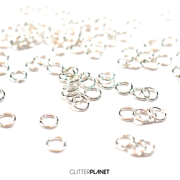 Silver Link Rings 5mm