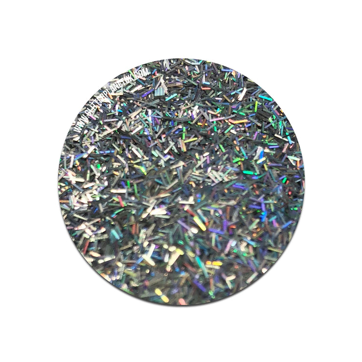 Silver Holographic Tinsel