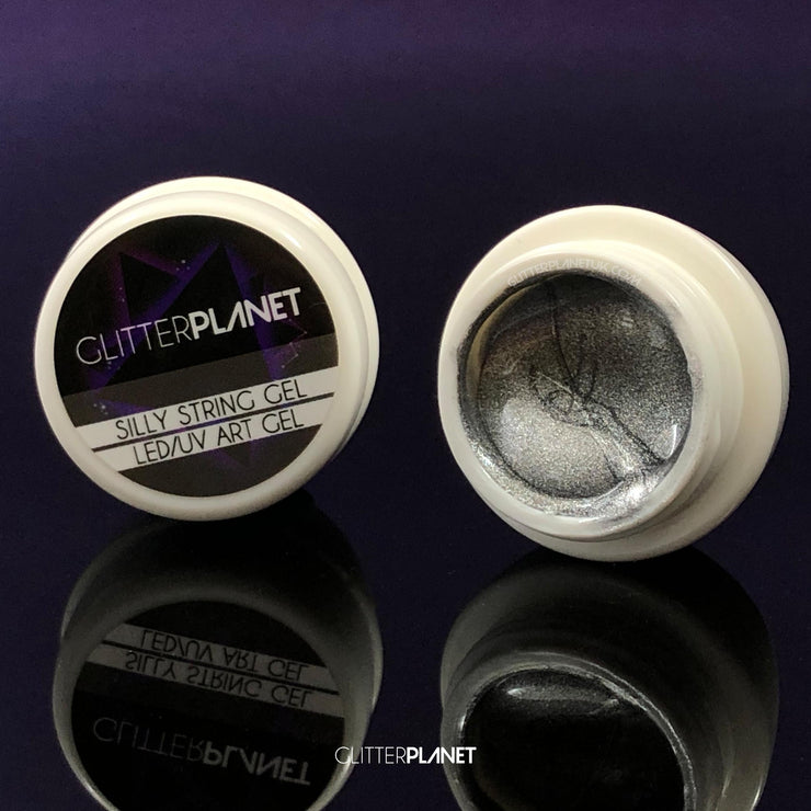 SILVER - Silly String Line Gel Pod