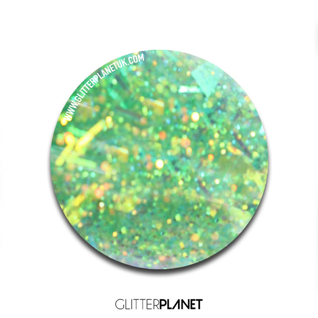 Sour Apple - Glitter Infused Nail Mate Elite Acrylic Art Powder Sugar Rush