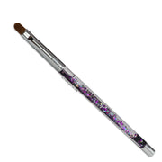 Galaxy Aqua Gel Nail Brush #8-Synthetic