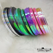 Iridescent Mint Green Striping Tape - 3pcs