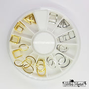 Nail Art Wheel 4 - Frames