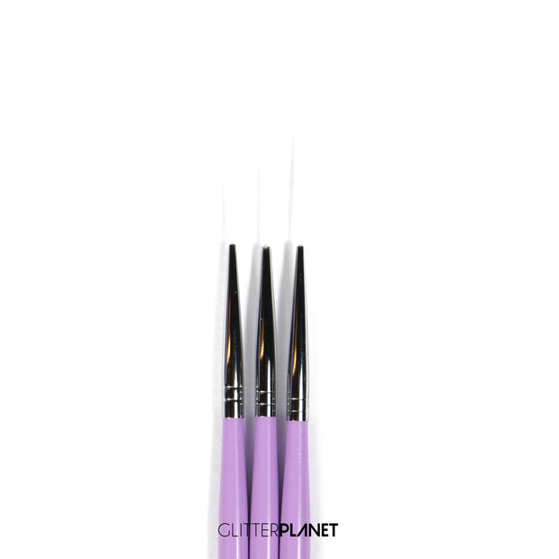 Baddest Liner brush 3pcs set