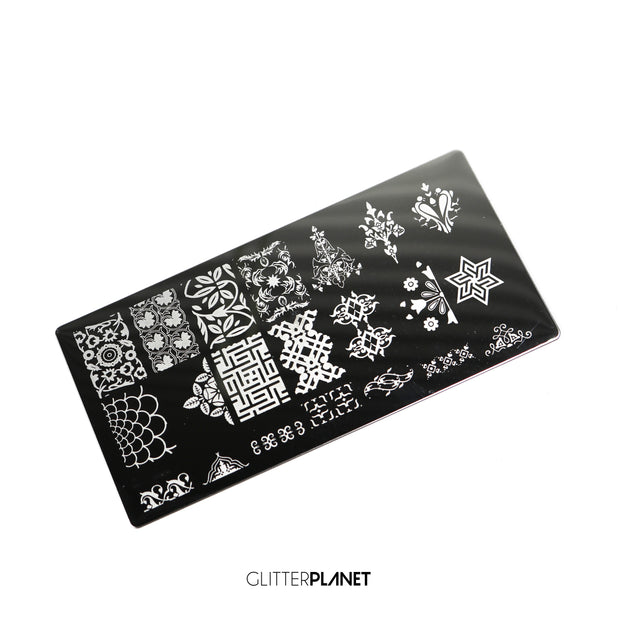 Fancy Pants Stamping plate
