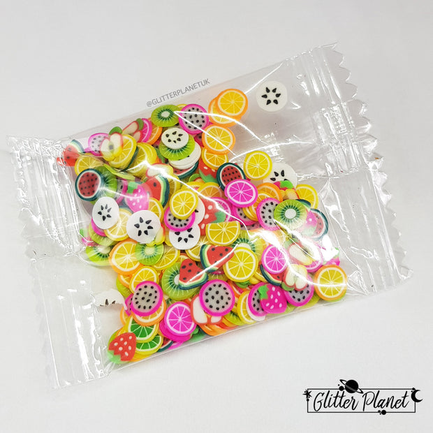 Fruit Salad - Fimo Slices