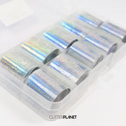 Holographic Nail Art Foil Set 10pcs - SET 1