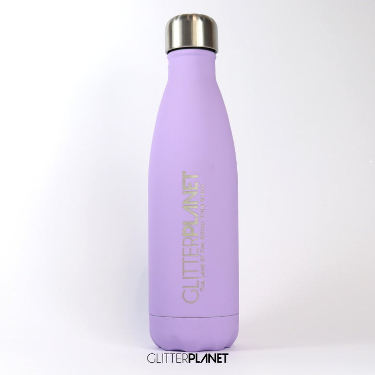 Stainless Steel Water Bottle Matte Lilac Finish