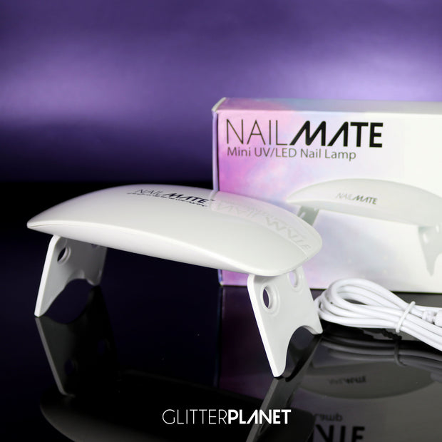Nail Mate Mini LED/UV USB Nail Lamp 6W