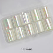 Oil Slick Nail Art Foil set 1 - 10pcs