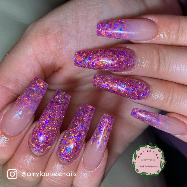 Princess Crush - Glitter Infused Acrylic Powder