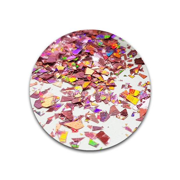 Holographic Rose Shards