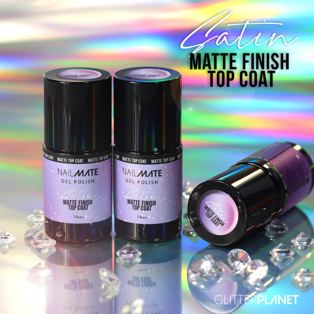 Matte Top Coat - Gel Polish 14ml