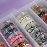 Glitter 'Packed & Stacked' pot collection
