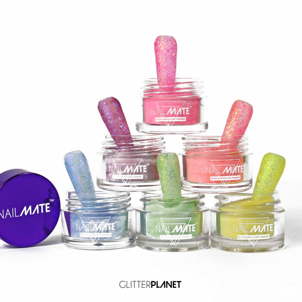 Sugar Rush Acrylic Colour Collection - 6pcs