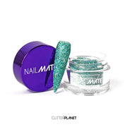 Teal Dreaming - Nail Mate™  Elite Acrylic pre mixed Glitter
