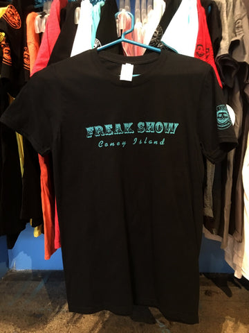 T-Shirt - Freak Show Turq Men