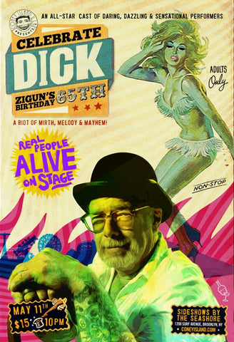 Friday - May 11, 2018 - 10pm - Celebrate Dick