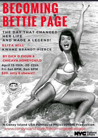April 21, 2018 Becoming Betty Page Ticket