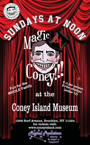 Magic at Coney - Sunday, March 22, 2020 - 12pm