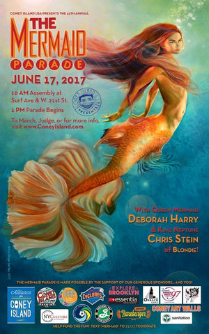 Poster - 2017 Mermaid Parade