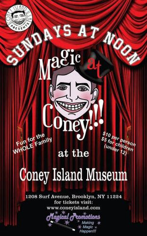Sunday, September 9, 2018, Magic at Coney - Adult Ticket