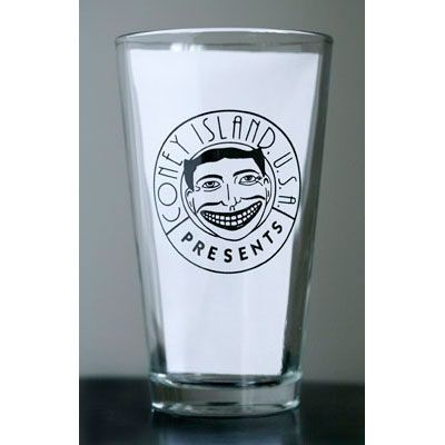 Coney Island USA Pint Glass