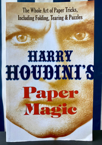 Magic Book - Harry Houdini Paper Magic