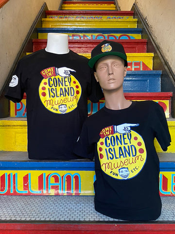 T-Shirt - Coney Island Museum - Unisex Black
