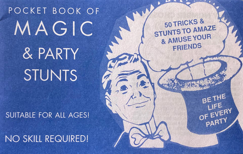 Magic - Pocket book of Magic & Party Stunts