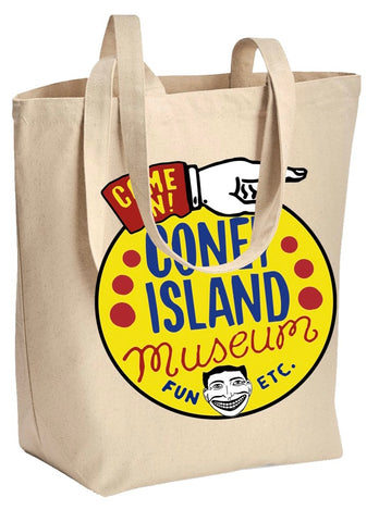 Tote bag - Coney Island Museum Logo
