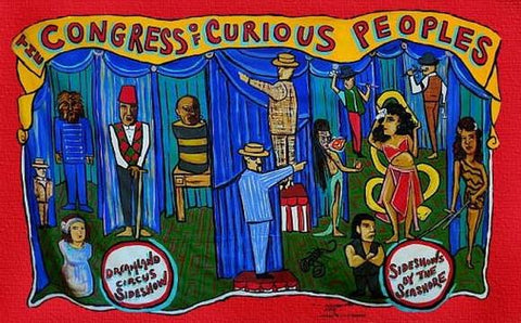 Congress of Curious Peoples Opening Night 2018: 12th Annual Sideshow Hall of Fame