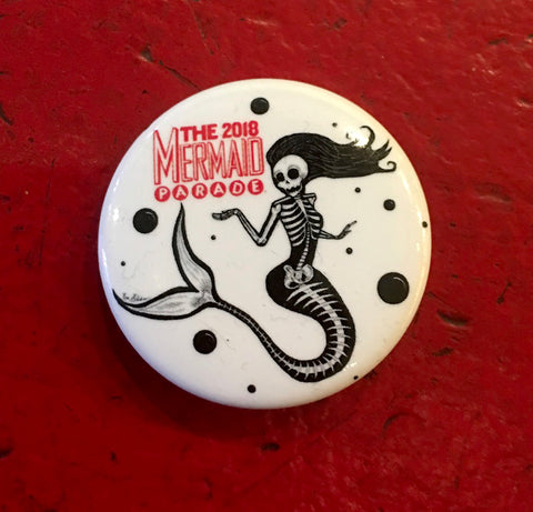 Button - 2018 Mermaid Parade