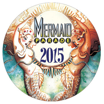 Button - 2015 Mermaid Parade