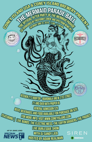 Coney Island USA & Coney Island Brewery Present: The Mermaid Parade Ball 2019 - Saturday - June 22, 2019 -5pm-11pm
