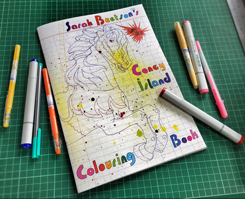Coloring Book - Sarah Beetson
