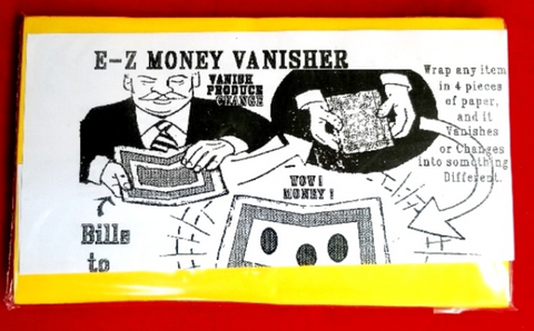 Magic - E-Z Money Vanisher