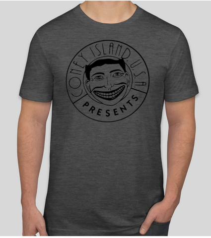 T-Shirt - Funny Face Heather Grey - Unisex